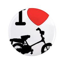 """I Heart Mopeds 3.5"""" Button"""