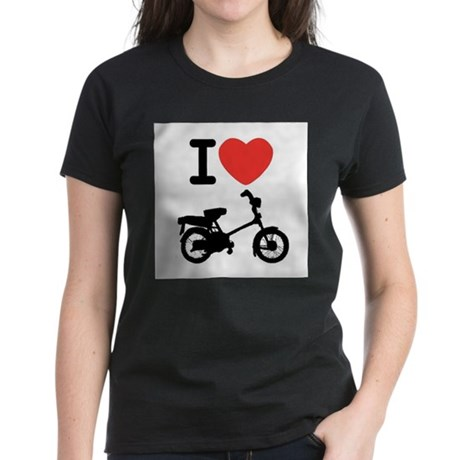 I Heart Mopeds Women's Dark T-Shirt