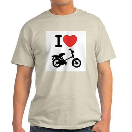 I Heart Mopeds Light T-Shirt