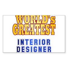 World's Greatest Interior Designer Decal