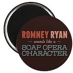 Romney Ryan Soap Opera Magnet