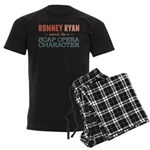 Romney Ryan Soap Opera Men's Dark Pajamas