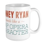 Romney Ryan Soap Opera Large Mug