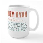 Romney Ryan Soap Opera Large Mug