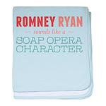 Romney Ryan Soap Opera baby blanket