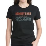 Romney Ryan Soap Opera Women's Dark T-Shirt