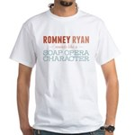 Romney Ryan Soap Opera White T-Shirt