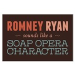 Romney Ryan Soap Opera Large Poster