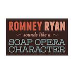 Romney Ryan Soap Opera 35x21 Wall Decal