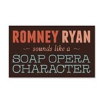Romney Ryan Soap Opera 20x12 Wall Decal