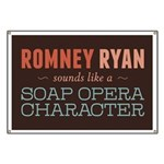 Romney Ryan Soap Opera Banner