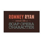 Romney Ryan Soap Opera Rectangle Car Magnet