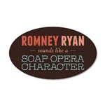 Romney Ryan Soap Opera 20x12 Oval Wall Decal