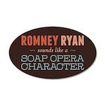Romney Ryan Soap Opera 35x21 Oval Wall Decal