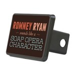 Romney Ryan Soap Opera Rectangular Hitch Cover