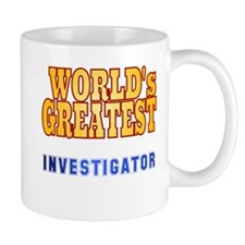 World's Greatest Investigator Mug