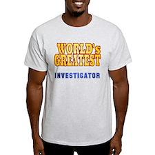 World's Greatest Investigator T-Shirt