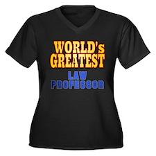 World's Greatest Law Professor Women's Plus Size V