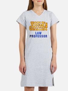 World's Greatest Law Professor Women's Nightshirt