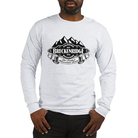 Breckenridge mountain emblem long sleeve t shirt for Mountain long sleeve t shirts