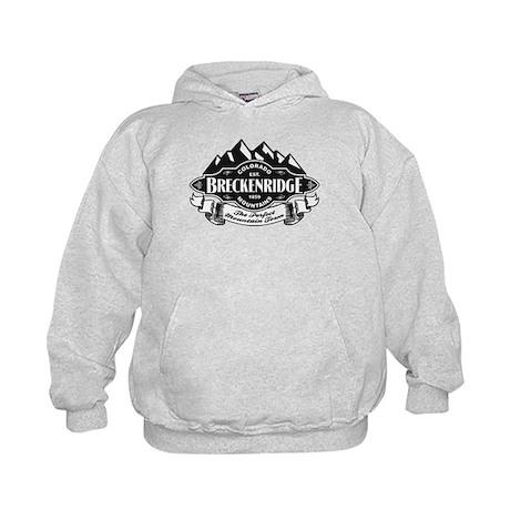 Breckenridge Mountain Emblem Kids Hoodie
