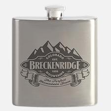 Breckenridge Mountain Emblem Flask
