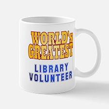 World's Greatest Library Volunteer Mug