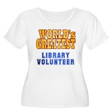 World's Greatest Library Volunteer T-Shirt