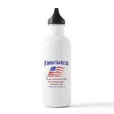 Anniversary Graphic Cuban Missle Crises Water Bottle