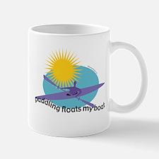 FloatsMyBoatBlack Mugs