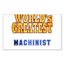World's Greatest Machinist Decal