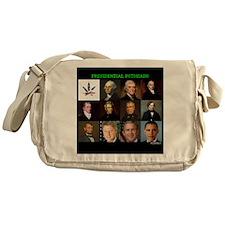 Presidential Potheads Messenger Bag