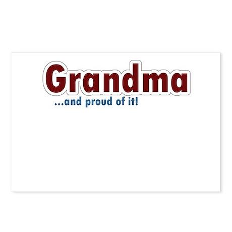 Grandma Postcards (Package of 8)