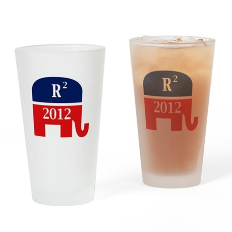 Romney and Ryan 2012 Drinking Glass