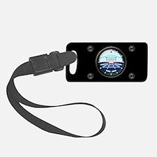 Artificial Horizon (black) Luggage Tag w/ID