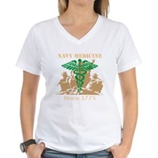 Navy Medicine Green/Coyote Shirt