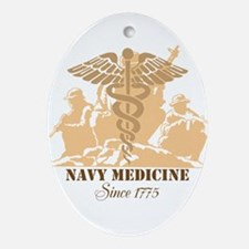 Navy Medicine Since 1775 Ornament (Oval)