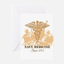Navy Medicine Since 1775 Greeting Cards (Pk of 10)