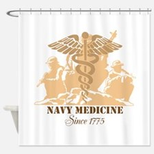 Navy Medicine Since 1775 Shower Curtain