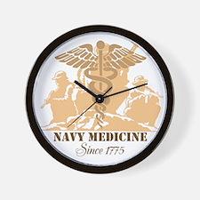 Navy Medicine Since 1775 Wall Clock