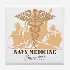 Navy Medicine Since 1775 Tile Coaster