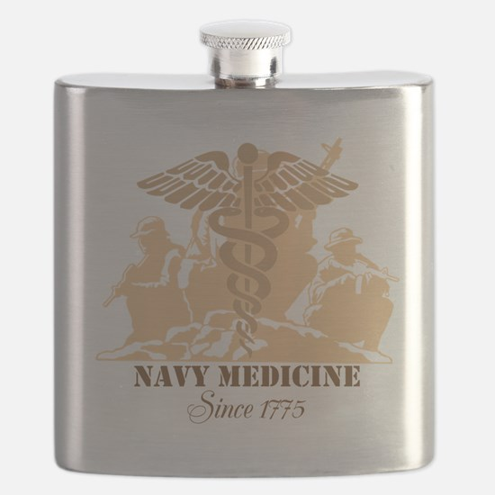 Navy Medicine Since 1775 Flask