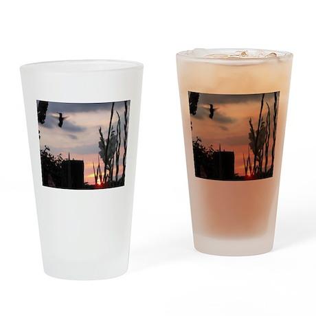 Hummer Angel Drinking Glass