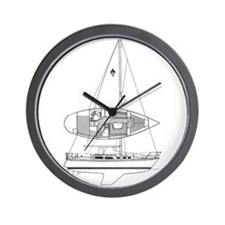 Catalina 34 Wall Clock