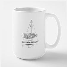 Catalina 34 Large Mug