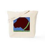 Chocolate Lab Profile Tote Bag