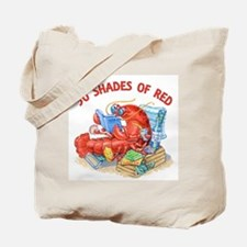 50 Shades of Red Tote Bag
