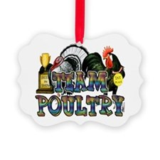 Team Poultry Ornament