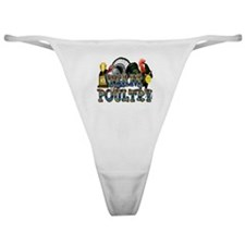 Team Poultry Classic Thong