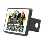 Team Poultry Rectangular Hitch Cover
